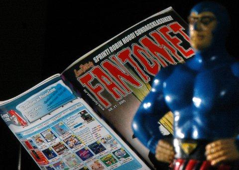 LEGGES NED: Tegneseriebladet Fantomet legges ned i Norge på grunn av for dårlige salgstall.