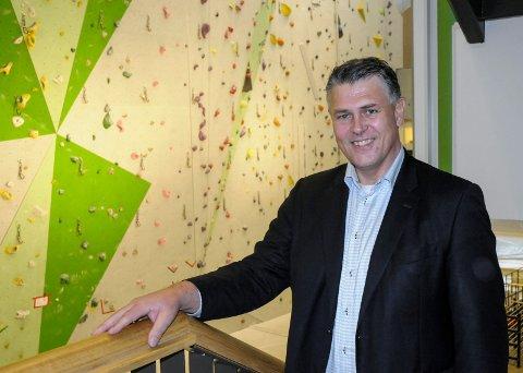 LEDER: Prosjektleder Kjell-Eric Andersen vil sørge for at ringeriksregionen blir tildelt NM-veka for 2020 eller 2021.