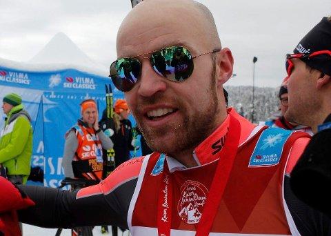 FJERDE: Tord Asle Gjerdalen kom på fjerdeplass i Marcialonga.