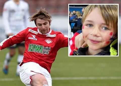 Kim André Nielsen var fotballspiller på flere lokale lag i drammensdistriktet. Sønnen Benjamin ble bare sju år gammel.