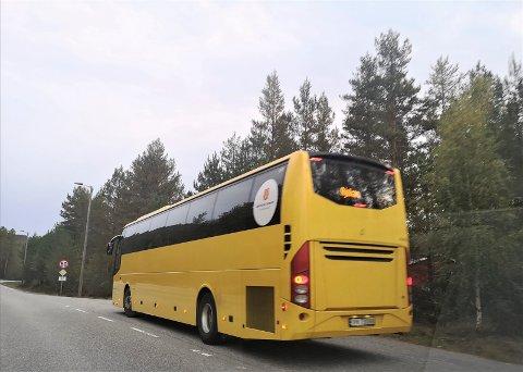 Rjukanekspressen (185) får avvikende avganger lørdag 10. oktober og søndag 11. oktober.