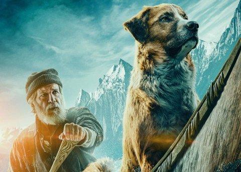 CALL OF THE WILD: Harrison for med hunden Buck som er hovedpersonen i historein basert på jack londons berømte bok.
