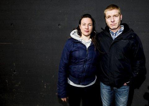 GIR IKKE OPP HÅPETt: Vibeke Morrissey og Ken Joar Olsen kjemper fortsatt for å få tilbake omsorgen for datteren som nå er to og et halvt år gammel. Foto: Tom Gustavsen