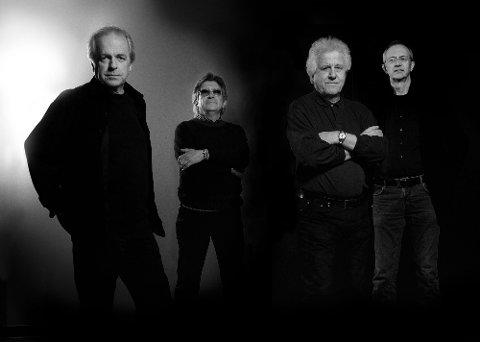 New Jordal Swingers. Fra venstre: Eigil Berg, Svein Finjar, Bjørn Kristiansen, John Kolloen, Ole Marius Melhuus.