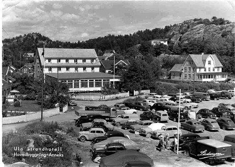HOTELL I ULA: Visste du at det lå et hotell ved parkeringsplassen på Ula i gamle dager? FOTO: Privat/Ludvigsen