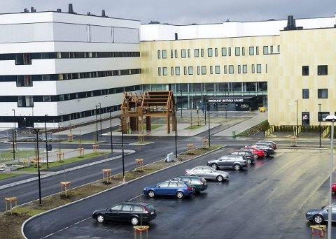 Stort lån: Helse- og omsorgsdepartementet og Helse Sør-Øst har tatt opp lån for å bygge Kalnes-sykehuset, men det er Sykehuset Østfold som må betale gjelden.foto: trond thorvaldsen