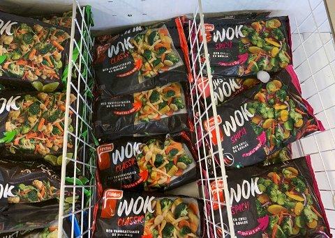 Wok-grønnsaker er overraskende nok noe av det du kan spare mest på.