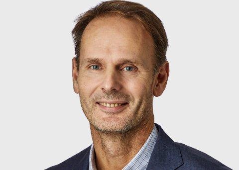 ANSATTE LEDER: Simon Nyquist Martinsen er ny konsernsjef i Frigaard Property Group.