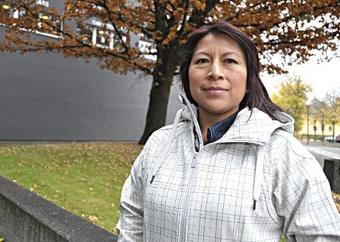 Ny leder: Sandra Reimundo gleder seg til å ta fatt på arbeidet som leder i integreringsrådet i Askim. Å få flere innvandrere ut i jobb ser hun på som en av flere viktig oppgaver.