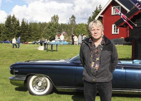 FORTSETTER: Jon Einar Aandal orket ikke drive Biltreff Classic omtrent på egen hånd, men nå har han fått hjelp til å lage treff nok et år. ARKIVFOTO