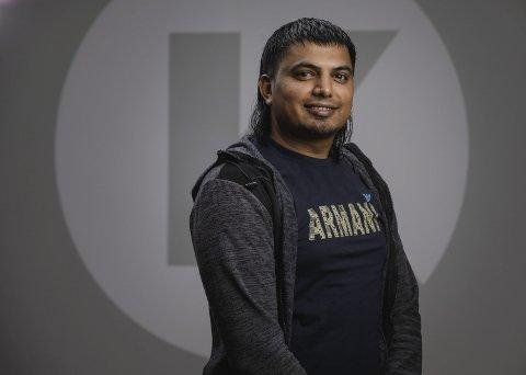 FRA NAV TIL LEDERTALENT: Naveed Khalid Mahmood (28) fikk jobb som nestkommanderende på Circle K Kolbotn etter å ha bestått en krevende talentutdannelse.