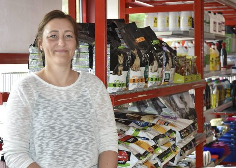 STARTER OPP: Torild Johansen håper hun snart kan starte opp den nye butikken Agrolife.