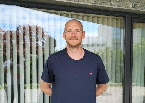 NY JOBB: Erling Ola Fykse gler seg til å flytta heim til Sogn og den nye jobben i Sogndal Fotball.
