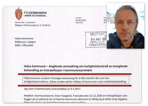 Einar Vaagland.