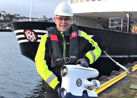 - Kontrakten med OKEA er et gjennombrudd og har stor betydning for den videre utviklingen av firmaet, sier daglig leder Frank Ellingsen i OceanFront.