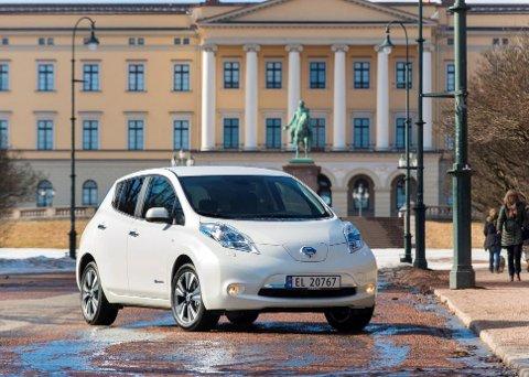Nissan Leaf holder fortsatt koken. (Foto: broom.no/ANB)