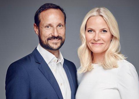 KRONPRINSPARET: Haakon og Mette Marit kommer til Rosahaugparken onsdag ettermiddag i forbindelse med deres rundtur i Vestfold.