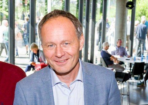NY JOBB: Kjell Håkon Andersen slutter i Vestfold fylkeskommune.
