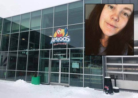 UBEHAGELIG OPPLEVELSE: En barnefamilie skal fredag ha blitt bedt om å «pelle seg ut» fra Amigos Playland etter å ha klaget på en is.