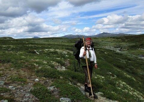 Ole Kristian Ødegård har gått i fotsporene til fekarene gjennom Langsua.