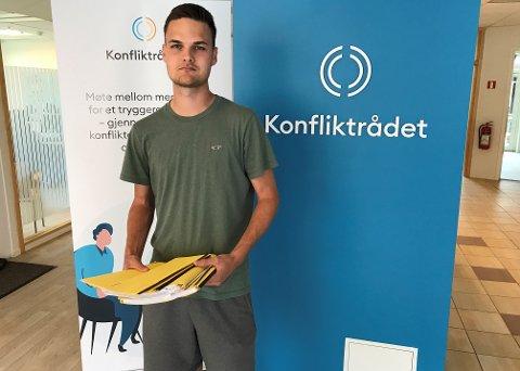 FORKLARER: Markus Sebastian Christensen fra Konfliktrådet.