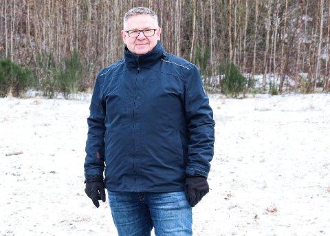 «VILJE TIL VEKST»: Prosjektleder Terje Hystad mener etablering av Oasen skole burde passe fint med kommunens slagord «vilje til vekst».