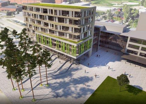 Det nye bydelshuset på Furuset i bydel Alna er under konstruksjon, og ventes ferdig i 2022. Det vil huse mange av bydelens tjenester.
