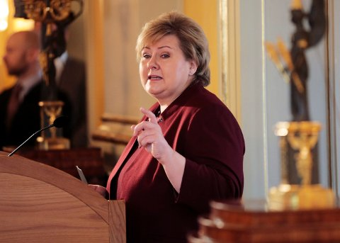 Statsminister Erna Solberg kommer til Bodø i slutten av april.