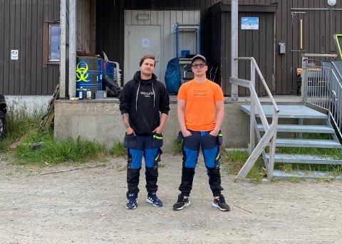 Kriminalitet: Nicholas Breivik (21) og Sondre Dahl Rydningen (26) ble i helgen utsatt for innbrudd og kriminalitet. Tyvene kom seg unna med utstyr til store  verdier.