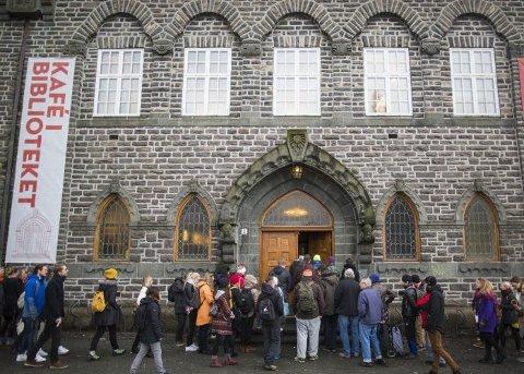 Skandinaviafesten på biblioteket starter fredag og avsluttes søndag.