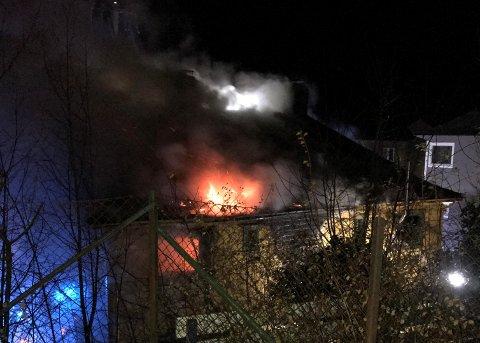 c4123a726 Bergensavisen - To leiligheter totalskadd i brann
