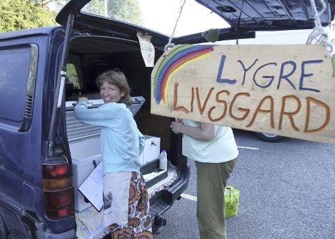 REKO-RINGER: Sammen med to andre fikk Veronica Lygre Reko-ringen i drift i Bergen. Salgskanalen som lar forbrukere kjøpe matvarer direkte fra produsent er blitt populært. FOTO: KATRINE NORDANGER MJELDE