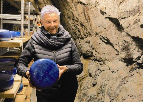 STOLT: Direktør Tone Sinding Steinsvik er over nominasjonen til utmerkelsen «Årets museum.»