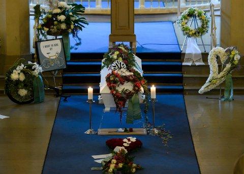 Tormod Boldvik ble bisatt i Strømsø kirke fredag.