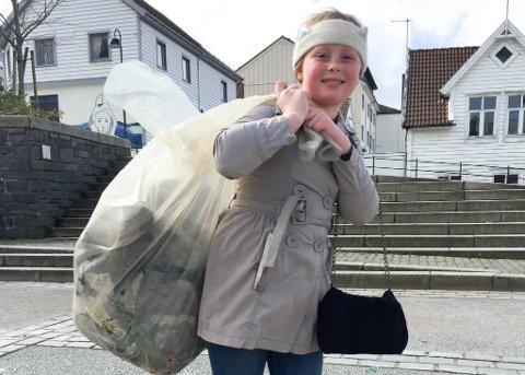 MDG arragangerte bossplukking i Florø laurdag 22.04.