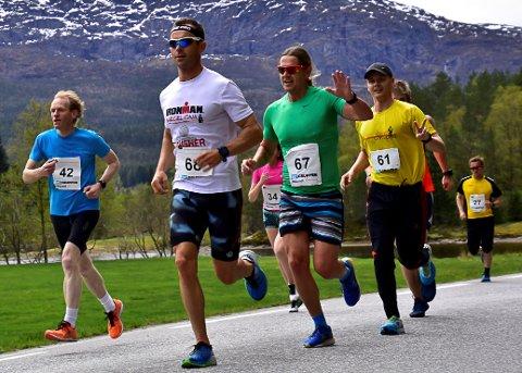 Frå Eikefjord halvmaraton 2017.