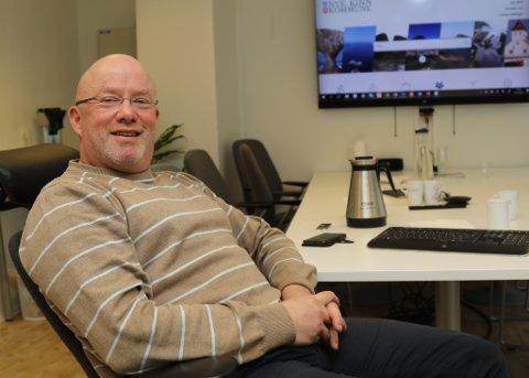 NESTEN FRISK: Rolf Bjarne Sund, prosjektkoordinator i Kinn kommune, har vore sjuk med nevroborreliose.
