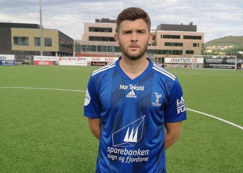 DEBUT: Vladan Radojkic (23) fekk sin debut for Florø Fotball mot Åsane i andre omgang.