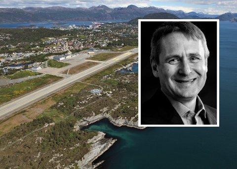 INN IGJEN: Widerøe-sjefen Stein Nilsen, meiner Florø lufthamn må inn i FOT-systemet igjen skal passasjerar kunne få eit akseptabelt flytilbod.