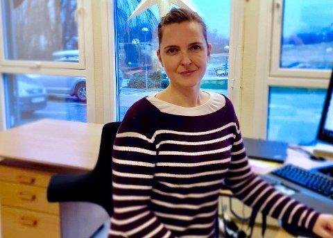 STOLT: Enhetsleder Anna Klette Steinslander imponert over at de ansatte ved Vindafjordtunet klarte å stoppe koronautbruddet før det spredte seg til flere avdelinger. – Jeg er stolt over jobben som er gjort, sier hun.