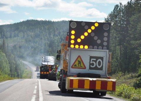 VENTETID: Det er bare å belage seg på ventetid dersom man skal langs nordsvenske veier i sommer.