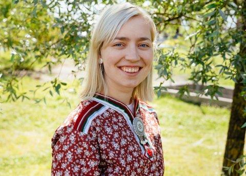 OPTIMIST: Ane Margrethe Ugelvik, daglig leder og produsent på Márkomeannu, har ikke fått signaler om at festivalen ikke kan gjennomføres. Hun vil likevel se an situasjonen.