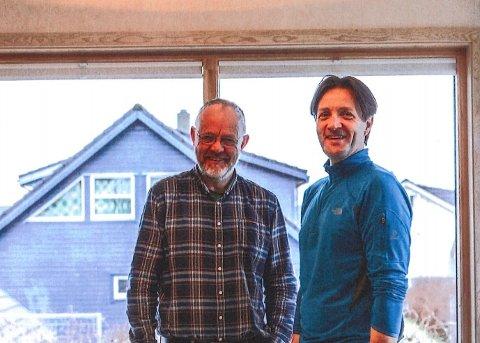 Kjetil Slyk og Svein Inge Espevik har drevet Byggmester Slyk & Espevik A/S i snart 34 år.