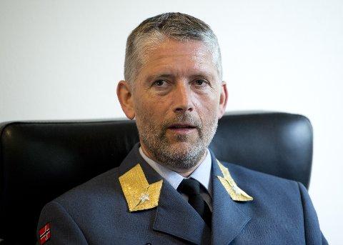 Cybersjefen: Brigader Kurt Pedersen rykker opp fra nestkommanderende, til å bli øverste sjef for Cyberforsvaret.? Foto: Torbjørn Olsen