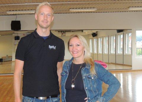 AEROBICSALEN: blir nå dansesal. Anders Viken vil fylle huset med aktivitet igjen.