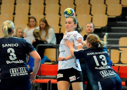 Sofie Wold leverte karrierebeste i Nadderud Arena søndag kveld.