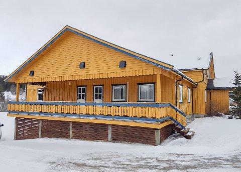 Utvidelse: Drevvatn Bygdehus skal utvide kjøkkenet sitt ved å ta deler av altanen