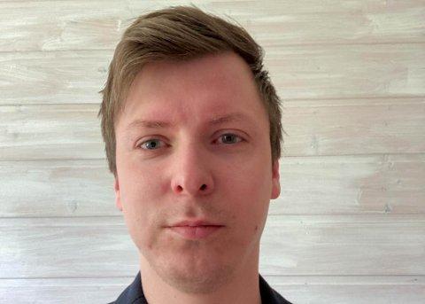 NY HOTELLSJEF: Tom Gøran Gaup blir ny hotellsjef på Scandic-hotellet i Karasjok.