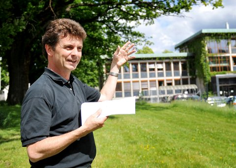 POSITIV: Øyvind Trygstad i Vestfold fylkeskommune har en nøkkelrolle i arbeidet med mulighetsstudien for området.