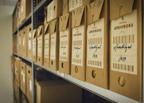 HISTORIE: Over 30.000 hyllemeter med norsk historie er lagret i Statsarkivet og i det lokale interkommunale arkivet på Raumyr.  Kongsbergs ordfører er opptatt av å bevare fagmiljøet.